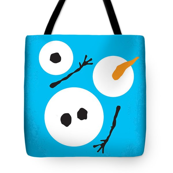 No396 My Frozen Minimal Movie Poster Tote Bag