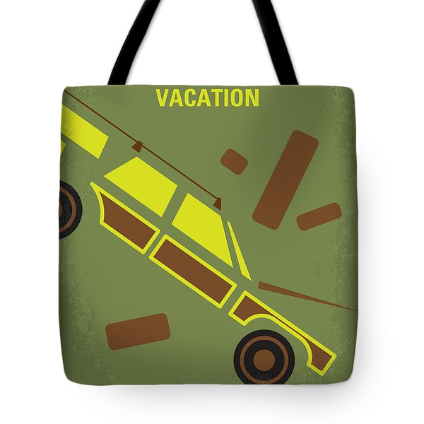No412 My National Lampoons Vacation Minimal Movie Poster Tote Bag