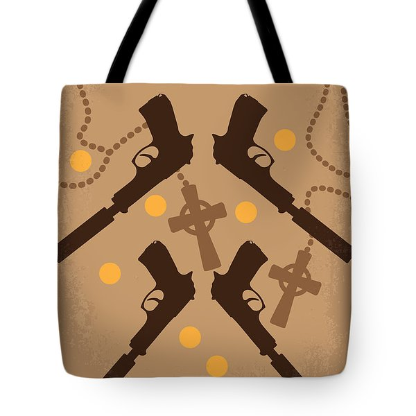 No419 My Boondock Saints Minimal Movie Poster Tote Bag by Chungkong Art