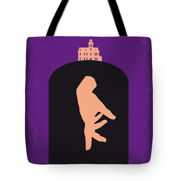 No423 My The Addams Family Minimal Movie Poster Tote Bag