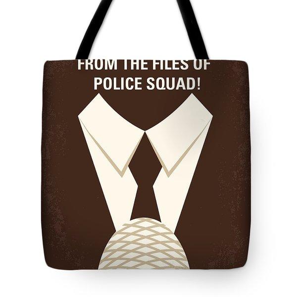 No432 My The Naked Gun Minimal Movie Poster Tote Bag