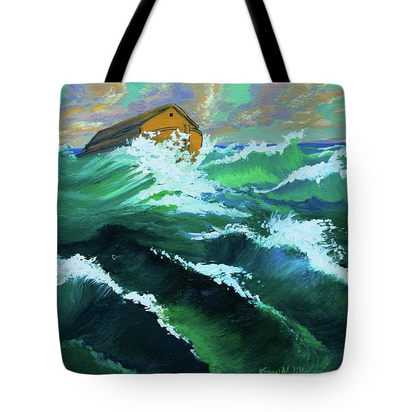 Noah's Ark Tote Bag by Karon Melillo DeVega
