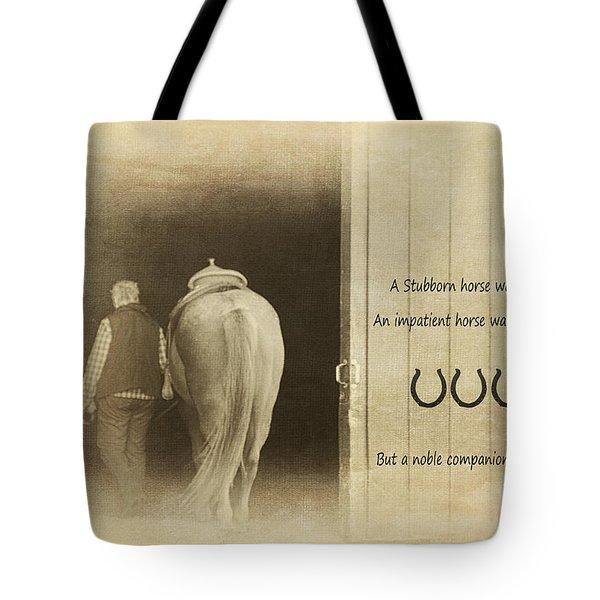 Noble Companion Tote Bag