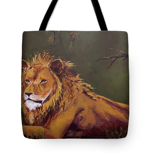 Noble Guardian - Lion Tote Bag