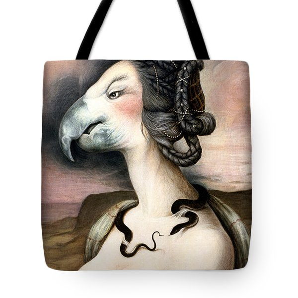 Noblesse Oblige Tote Bag by Yvonne Wright