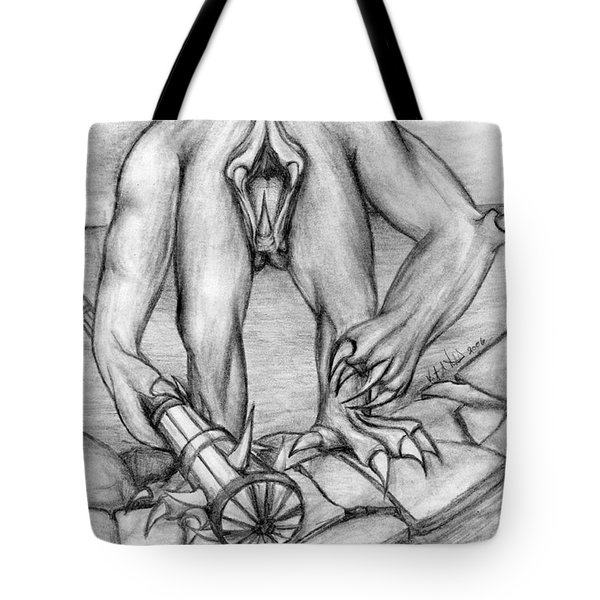 No Body Tote Bag