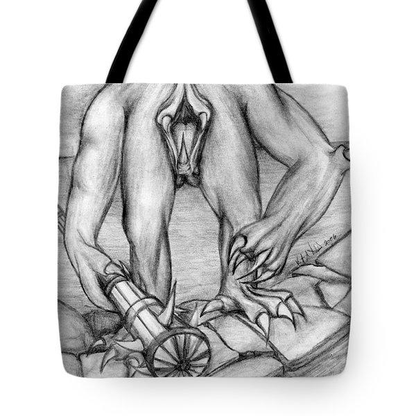 No Body Tote Bag