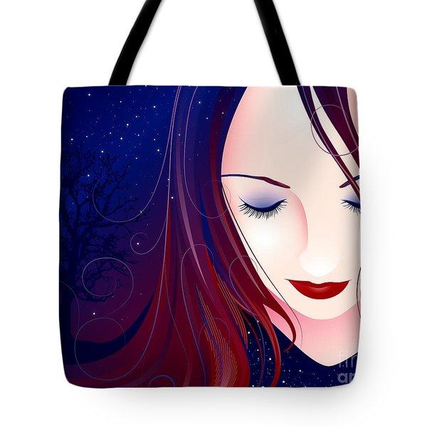 Nocturn II Tote Bag by Sandra Hoefer