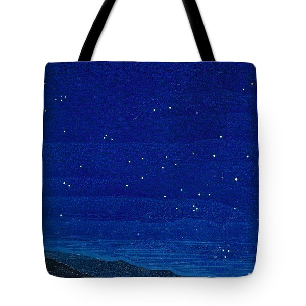 Nocturnal Landscape Tote Bag by Francois-Louis Schmied