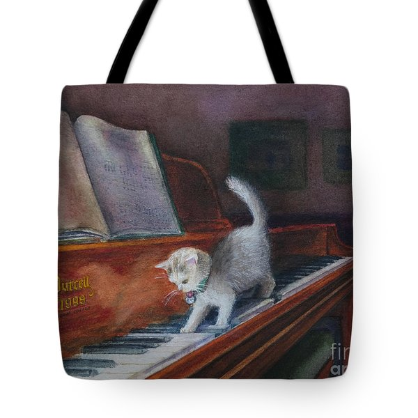 Nocturnal Notes Tote Bag