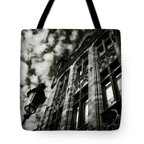 Noir Moment In Brugges Tote Bag