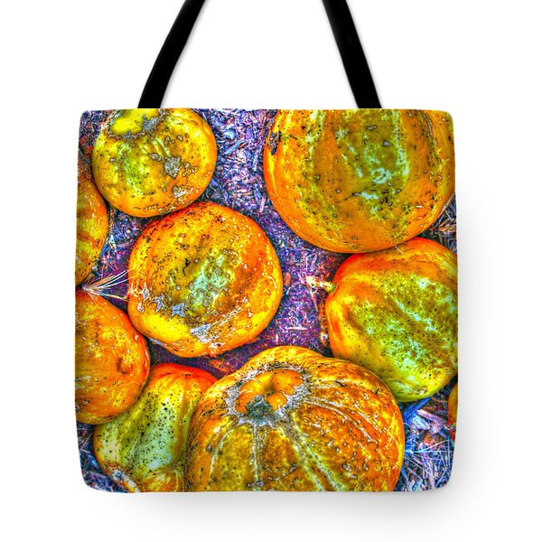 Noisy Lemon Cucumbers Tote Bag