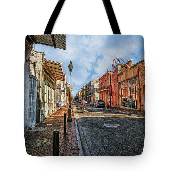 Nola French Quarter Tote Bag by Sennie Pierson