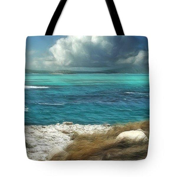 Nonsuch Bay Antigua Tote Bag by John Edwards