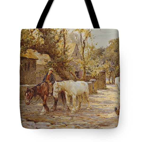 Noon Day  Tote Bag by Joseph Harold Swanwick