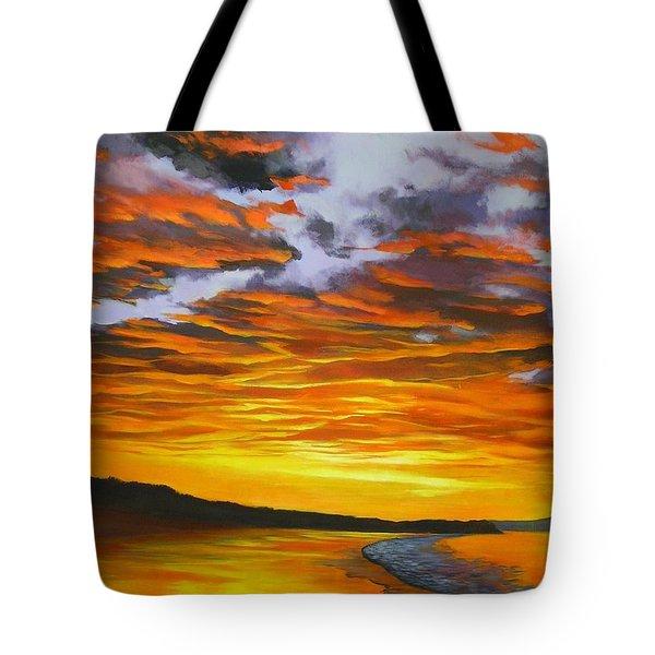 Noosa Sunset Tote Bag
