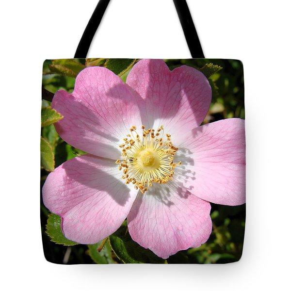 Nootka Rose Tote Bag