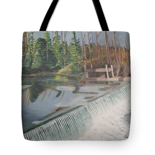 Nora Mill Waterfall Tote Bag