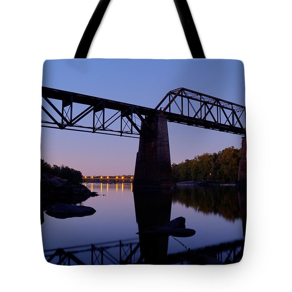 Norfolk-southern Crossing-1 Tote Bag