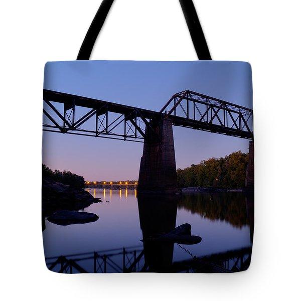 Twilight Crossing Tote Bag