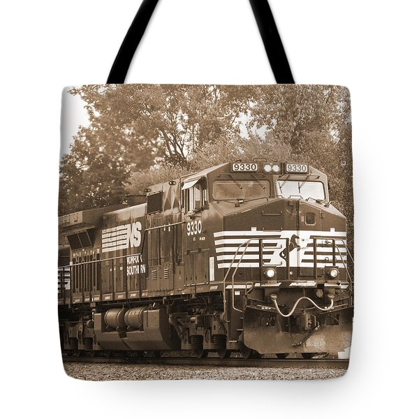 Norfolk Southern Freight Train Tote Bag