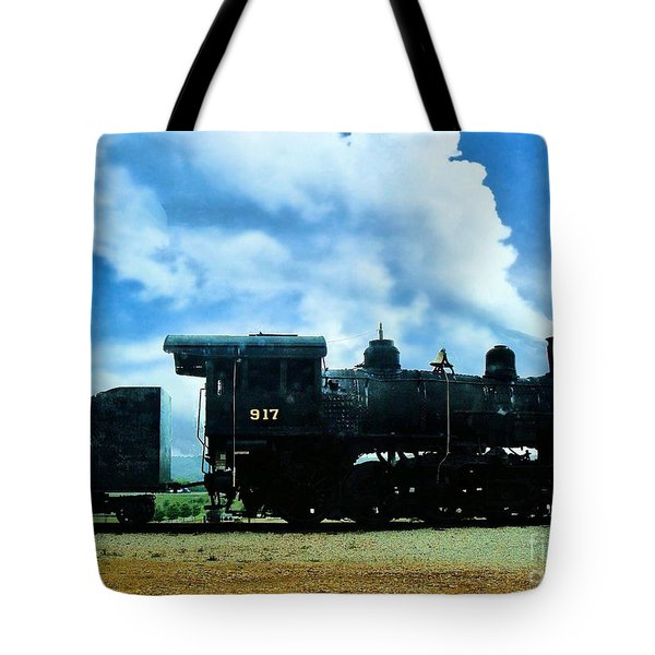 Norfolk Western Steam Locomotive 917 Tote Bag