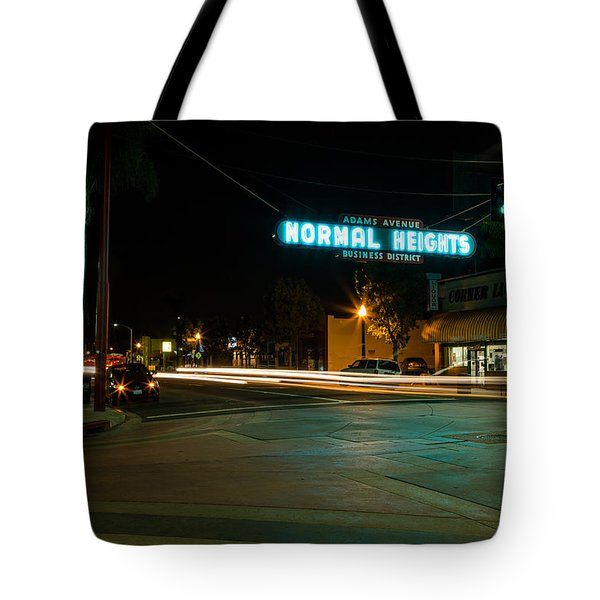 Normal Heights Neon Tote Bag