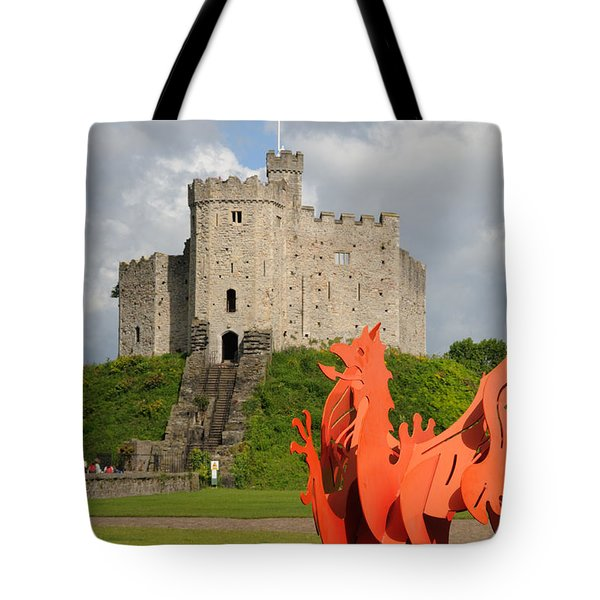 Norman Keep Cardiff Castle Tote Bag