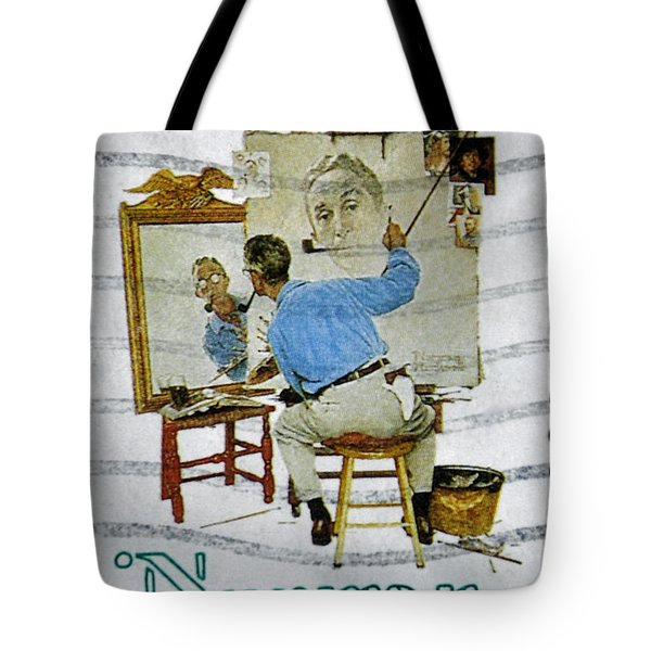 Norman Rockwell Tote Bag