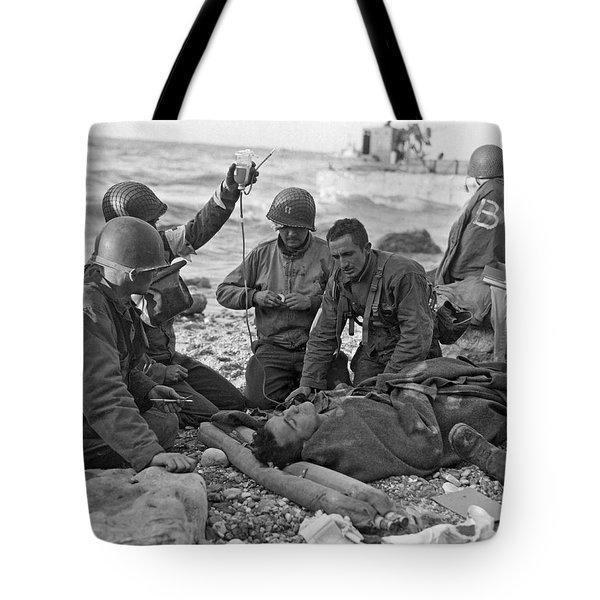 Normandy Invasion Medics Tote Bag