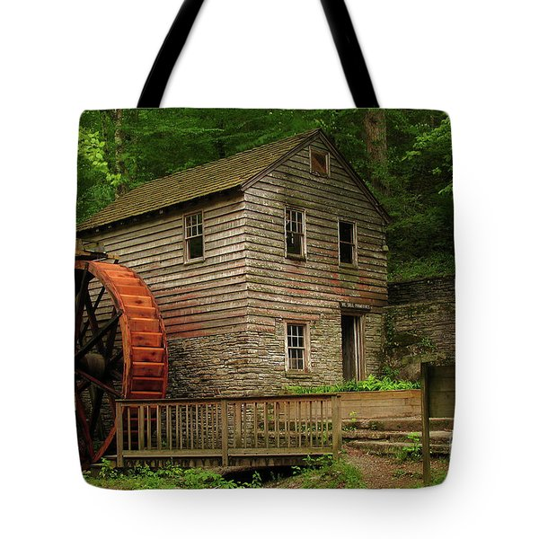 Rice Grist Mill Tote Bag