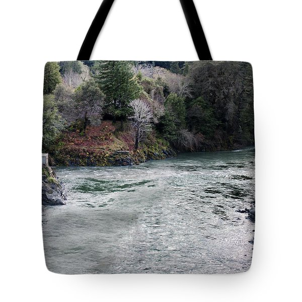 North And Middle Fork Of Smith River 2 Tote Bag by Betty Depee