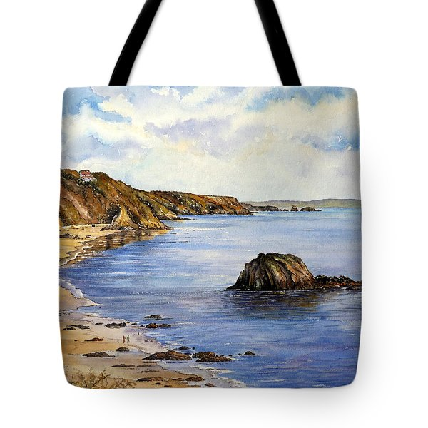 North Beach  Tenby Tote Bag by Andrew Read