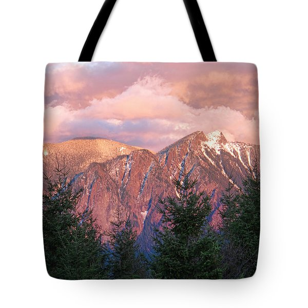 North Bend Washington Sunset 2 Tote Bag