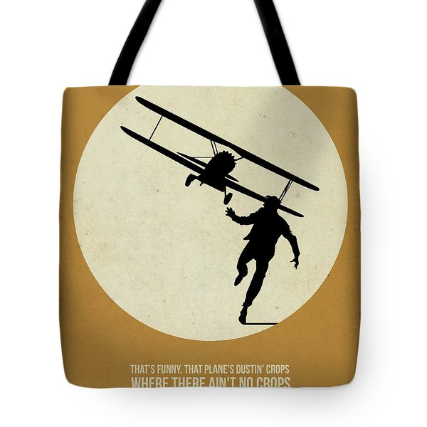 North By Northwest Poster Tote Bag