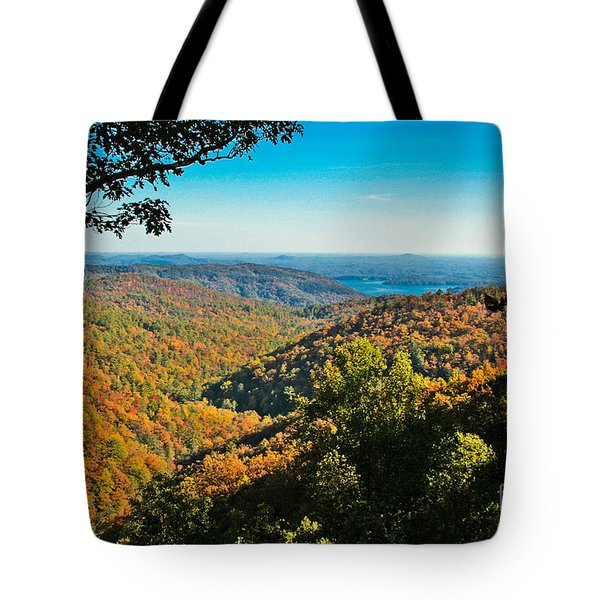 North Carolina Fall Foliage Tote Bag