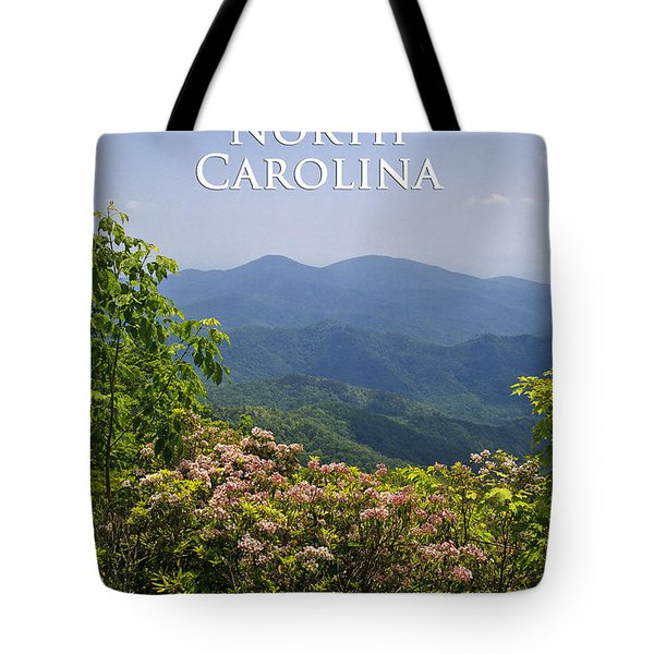 North Carolina Mountains Tote Bag
