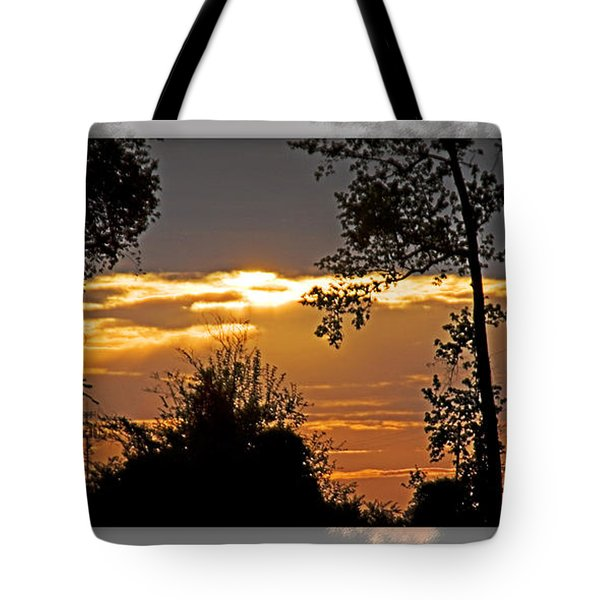 North Carolina Sunset Tote Bag