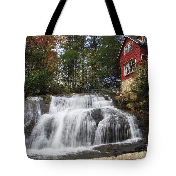 North Carolina Waterfall Tote Bag