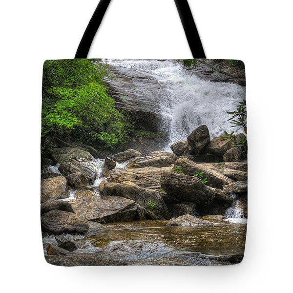 North Carolina Waterfall Tote Bag
