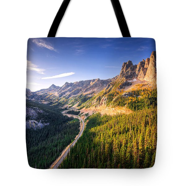 North Cascades Liberty Bell Tote Bag