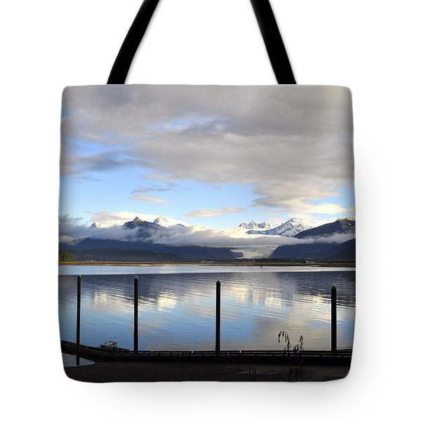 Tote Bag featuring the photograph North Douglas Reflections by Cathy Mahnke