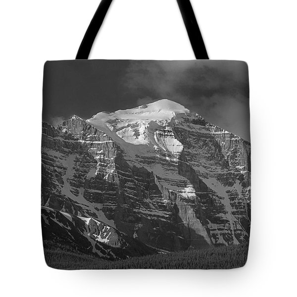 203553-north Face Mt. Temple Bw Tote Bag