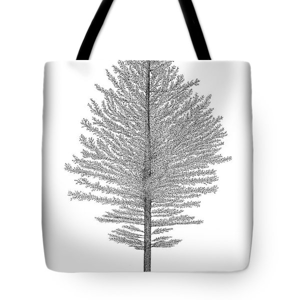 North Of America Tote Bag