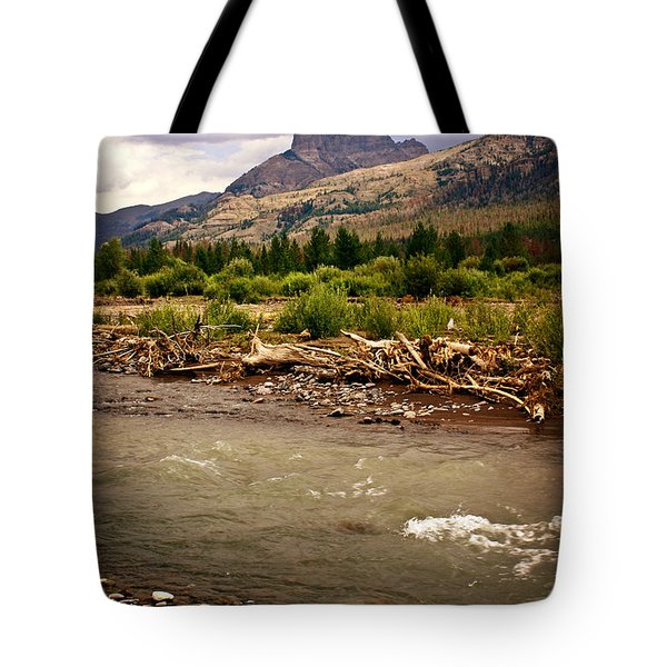 North Of Dubois 2 Tote Bag by Marty Koch