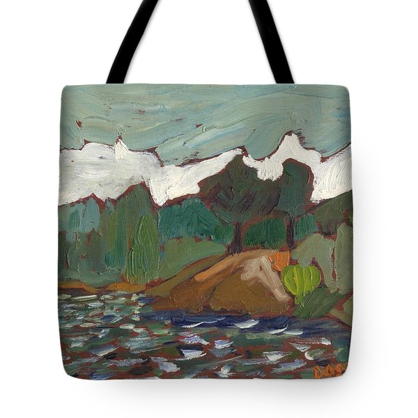 North Of Kingston Tote Bag by David Dossett
