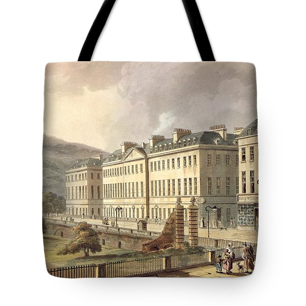 North Parade, From Bath Illustrated Tote Bag