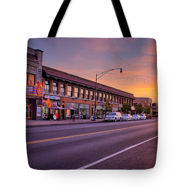 North Park Theatre Tote Bag