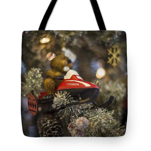 North Pole Express Tote Bag