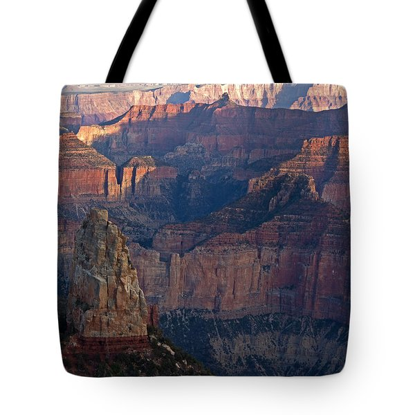 North Rim Sunset Tote Bag